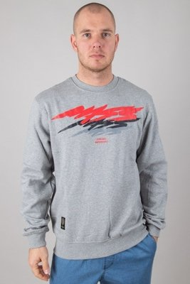 MASS CREWNECK TRUTH GREY