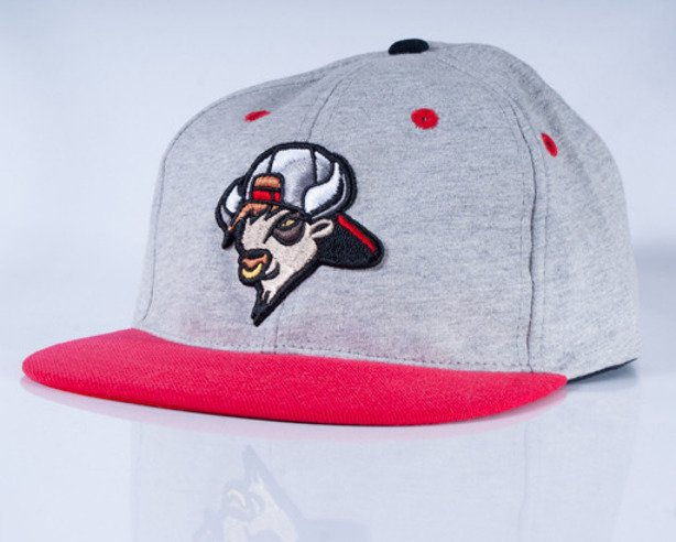 MASS CZAPKA SNAPBACK BUFFALO BOY GREY