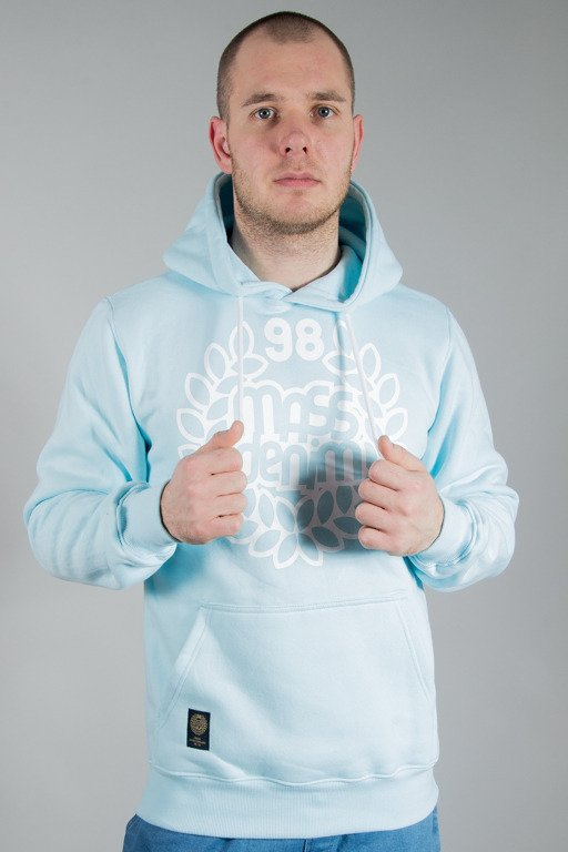 MASS HOODIE BASE LIGHT BLUE