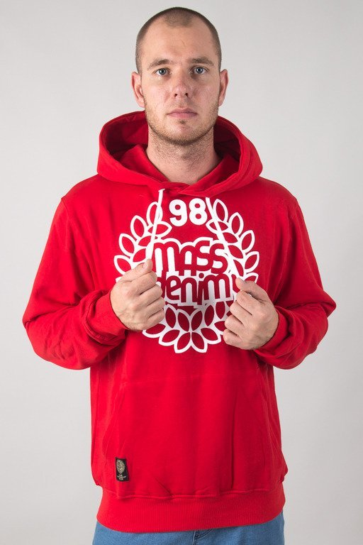 MASS HOODIE BASE RED