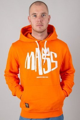 MASS HOODIE CROWN ORANGE