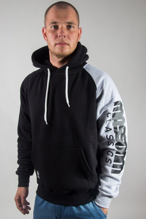 MASS HOODIE SECTION BLACK