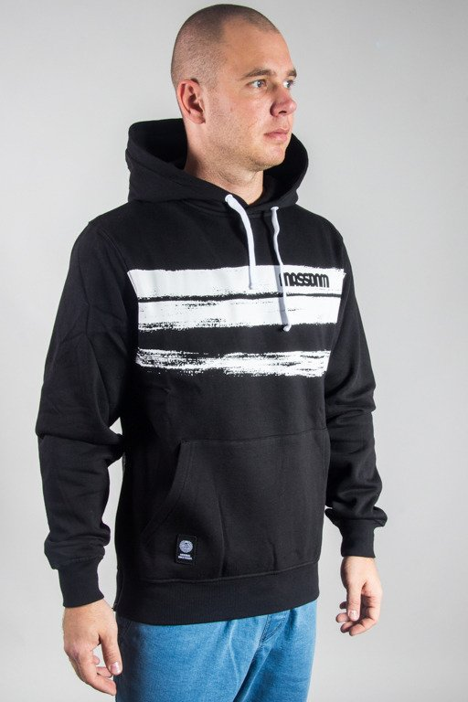 MASS HOODIE TRACES BLACK