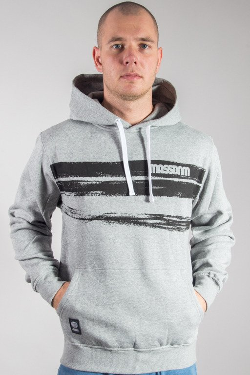 MASS HOODIE TRACES GREY