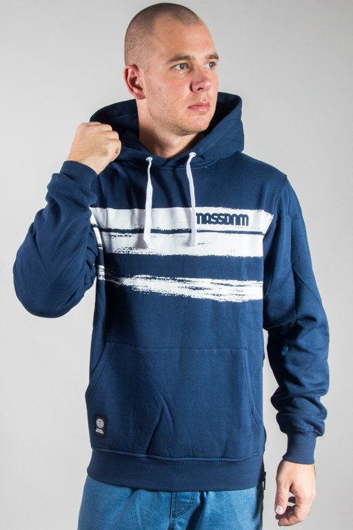 MASS HOODIE TRACES NAVY