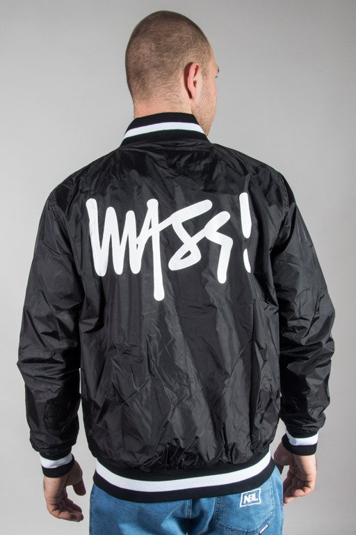 MASS JACKET BASEBALL SIGNATURE BLACK