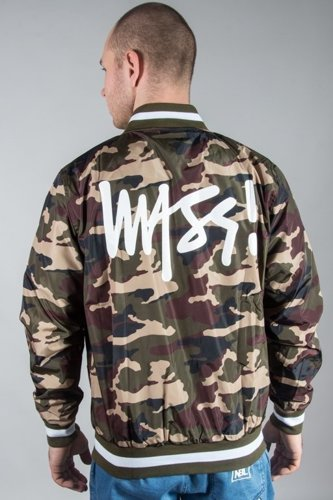 MASS JACKET BASEBALL SIGNATURE CAMO