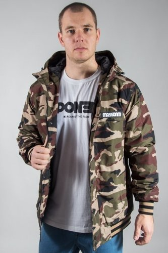 MASS JACKET DISTRICT CAMO