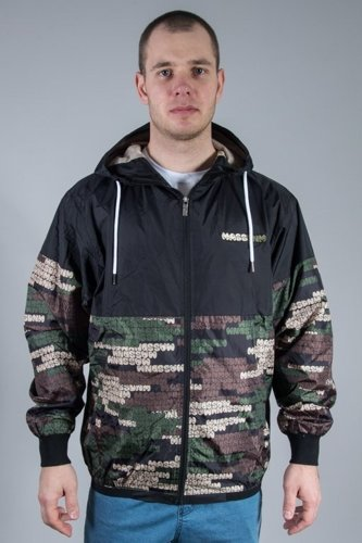 MASS JACKET PHAT CAMO BLACK