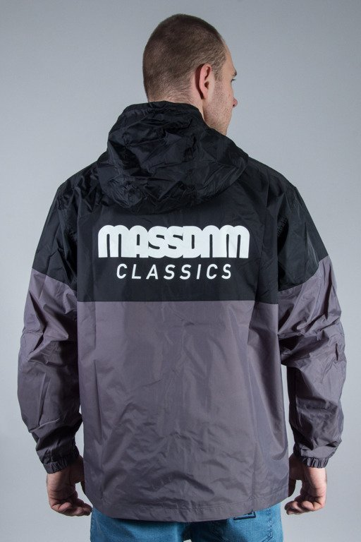 MASS JACKET SPRINT BLACK-GREY