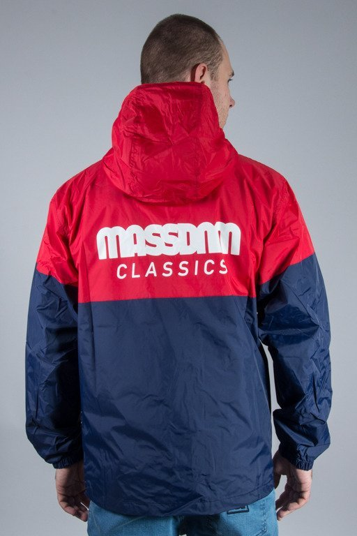 MASS JACKET SPRINT RED-NAVY