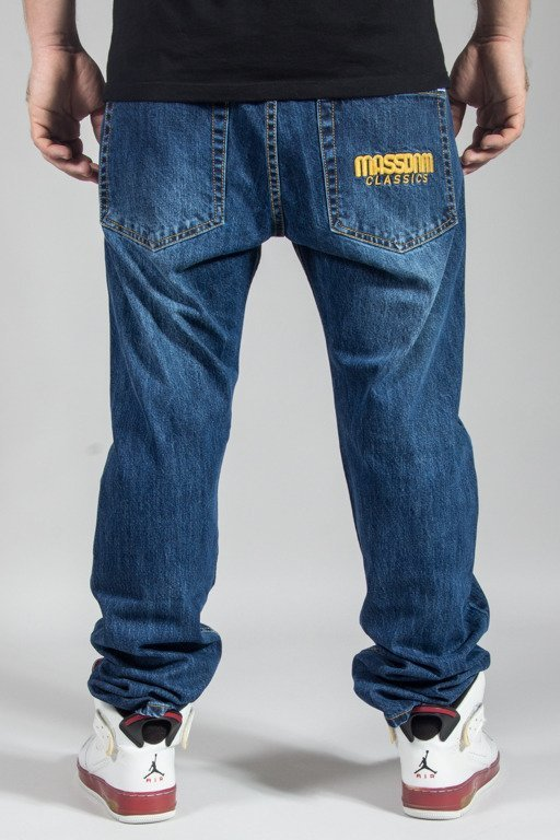 MASS JEANS CLASSIC STRAIGHT FIT DARK