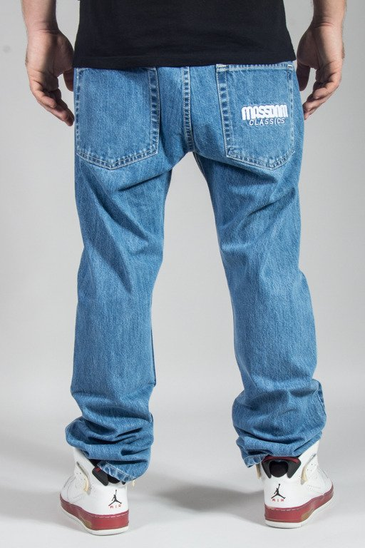 MASS JEANS CLASSIC STRAIGHT FIT LIGHT