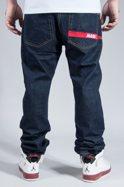 MASS JEANS FLIP TRAPERED FIT DARK