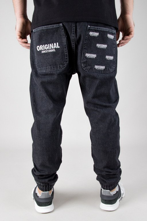 MASS JEANS JOGGER ORIGINAL BLACK
