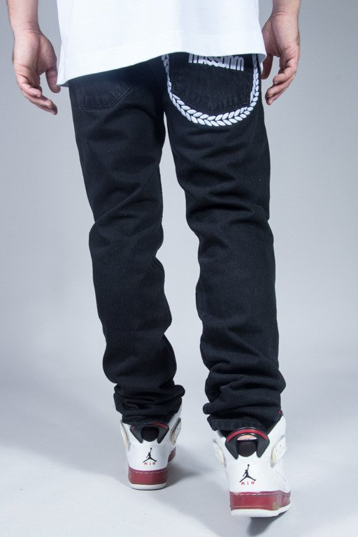 MASS JEANS RING TAPERED BLACK