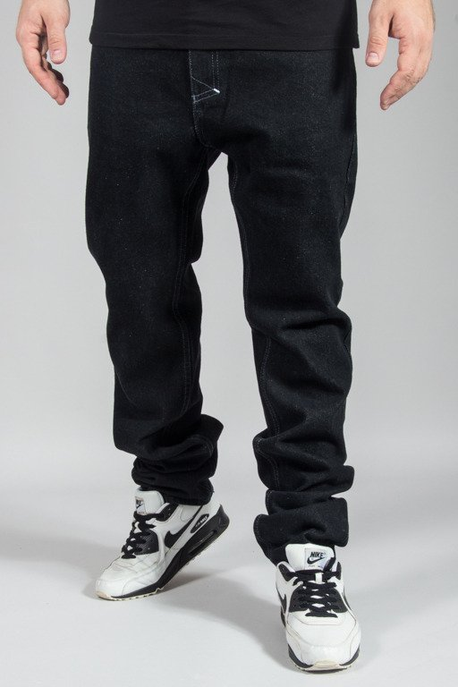 MASS JEANS SIGNATURE TAPERED FIT BLACK