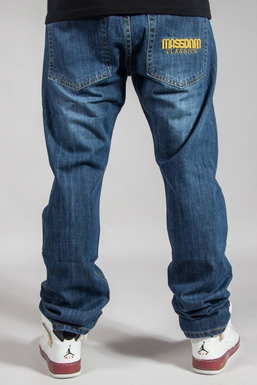 MASS JEANS STRAIGHT FIT CLASSIC DARK