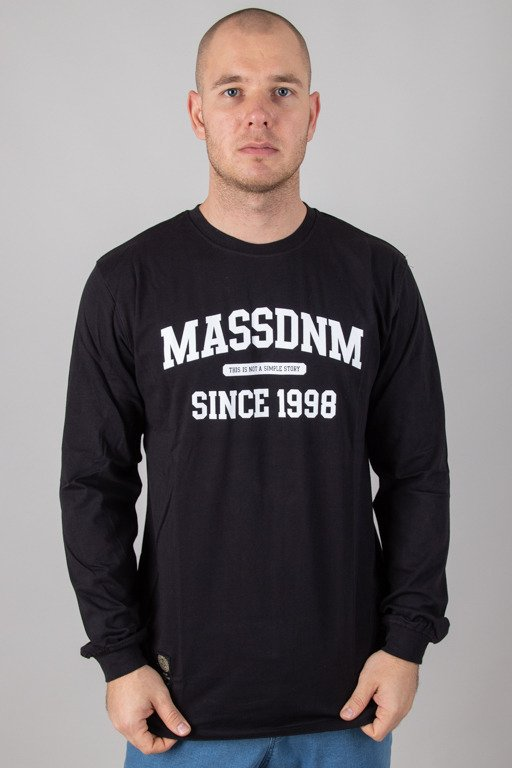 MASS LONGSLEEVE CAMPUS BLACK