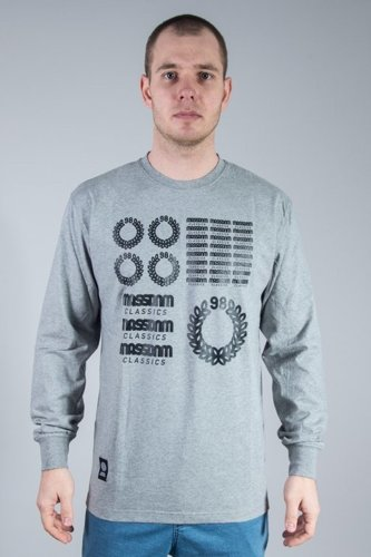 MASS LONGSLEEVE DISPLAY GREY
