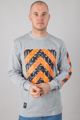 MASS LONGSLEEVE ONE WAY SYSTEM GREY