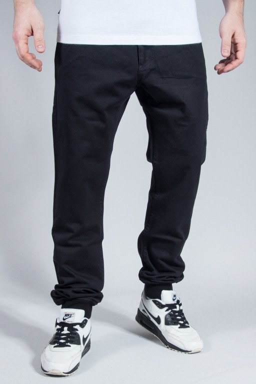 MASS PANTS CHINO JOGGER CLASSICS BLACK