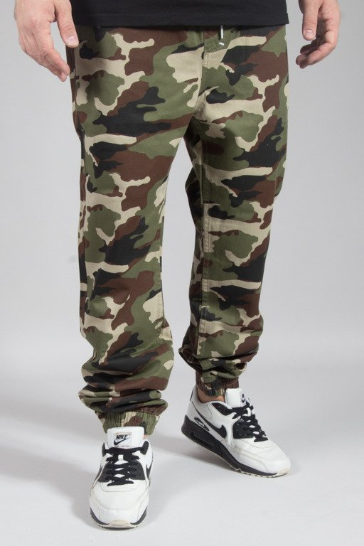 MASS PANTS CHINO JOGGER SIGNATURE CAMO