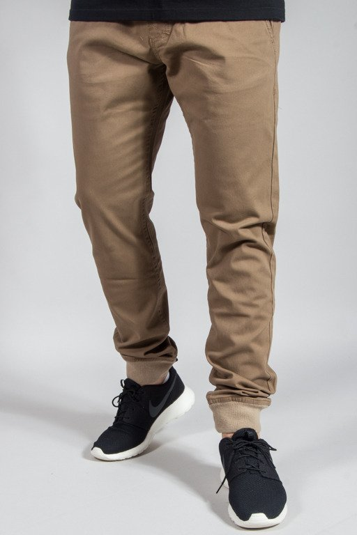 MASS PANTS CHINO JOGGER SNEAKER FIT BASE BEIGE