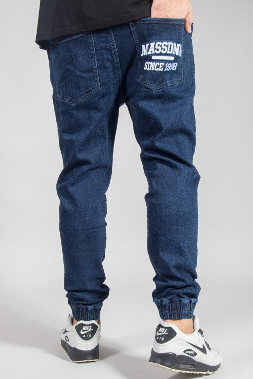 MASS PANTS JEANS JOGGER CAMPUS DARK