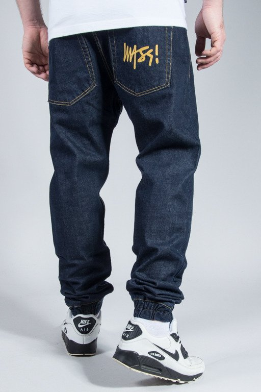 MASS PANTS JEANS JOGGER SIGNATURE DARK
