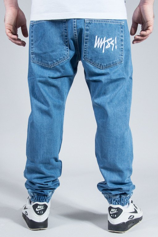 MASS PANTS JEANS JOGGER SIGNATURE LIGHT