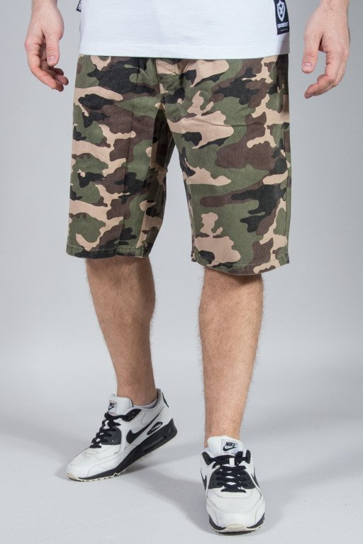MASS SHORTS CHINO BASE CAMO