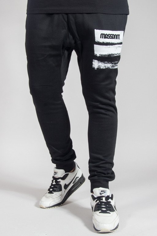 MASS SWEATPANTS TRACES BLACK