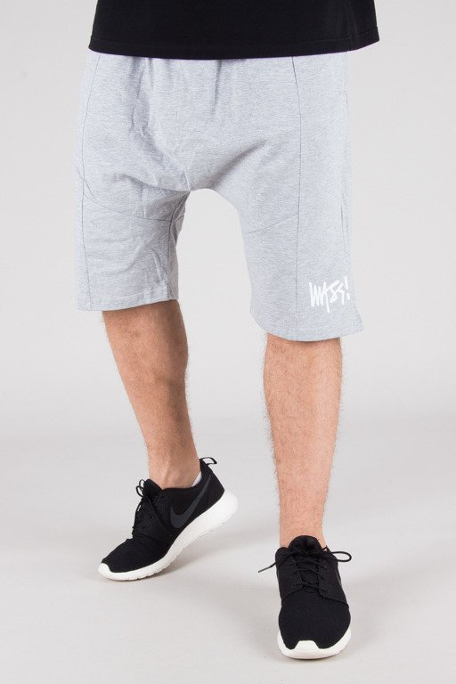 MASS SWEATSHORTS SIGNATURE LOW CROTCH MELANGE