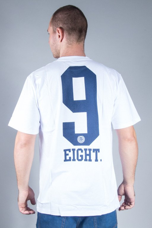 MASS T-SHIRT 9 EIGHT WHITE