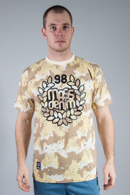 MASS T-SHIRT BASE CAMO BEIGE