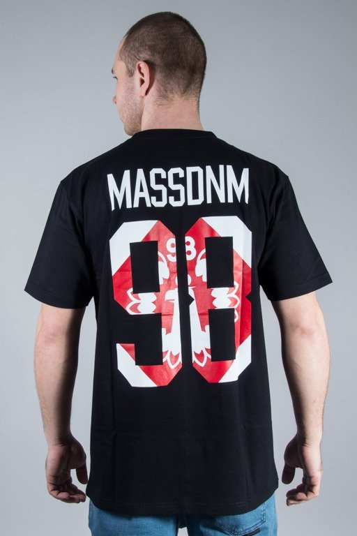 MASS T-SHIRT CREST BLACK
