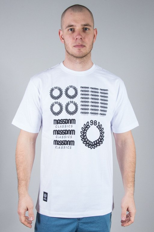 MASS T-SHIRT DISPLAY WHITE