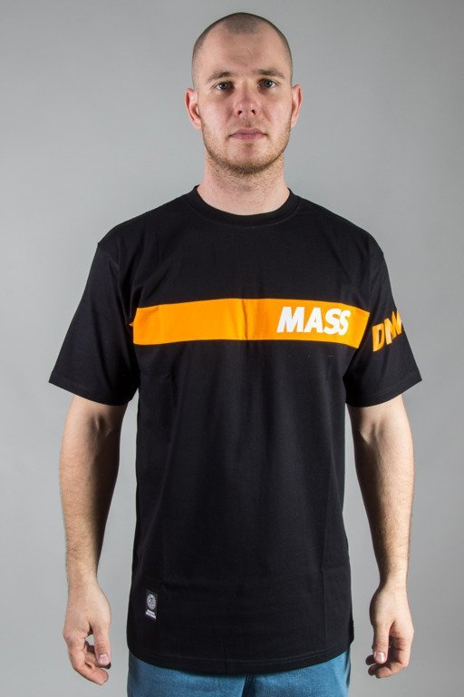 MASS T-SHIRT FLIP BLACK