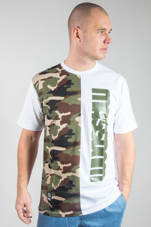 MASS T-SHIRT HALF CAMO WHITE
