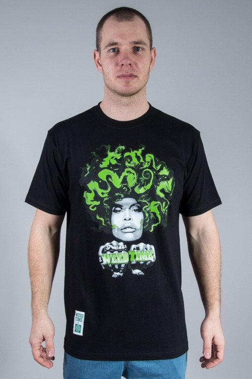 MASS T-SHIRT LADY IN GREEN BLACK