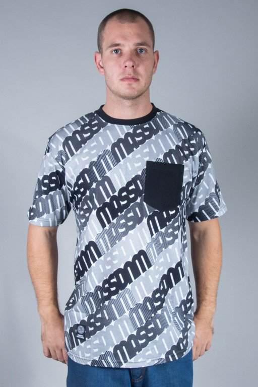 MASS T-SHIRT MULTIPLY BLACK