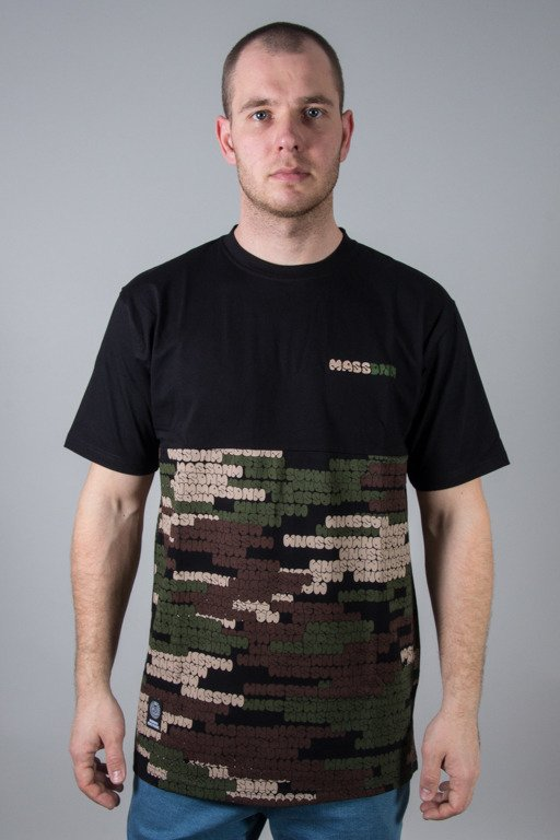 MASS T-SHIRT PATH CAMO BLACK