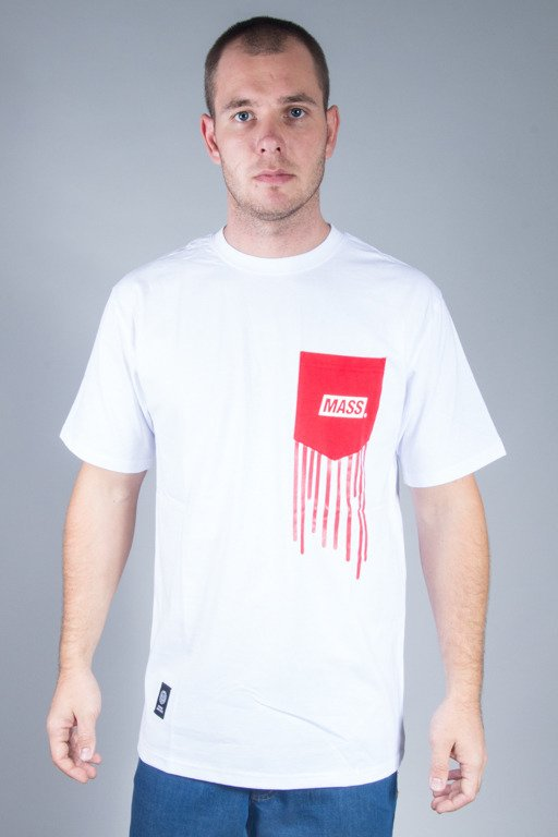 MASS  T-SHIRT POCKET COVER WHITE