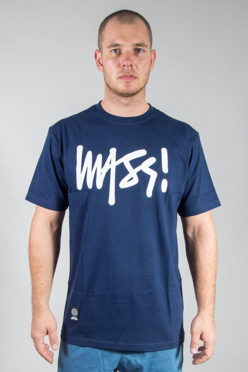 MASS T-SHIRT SIGNATURE NAVY