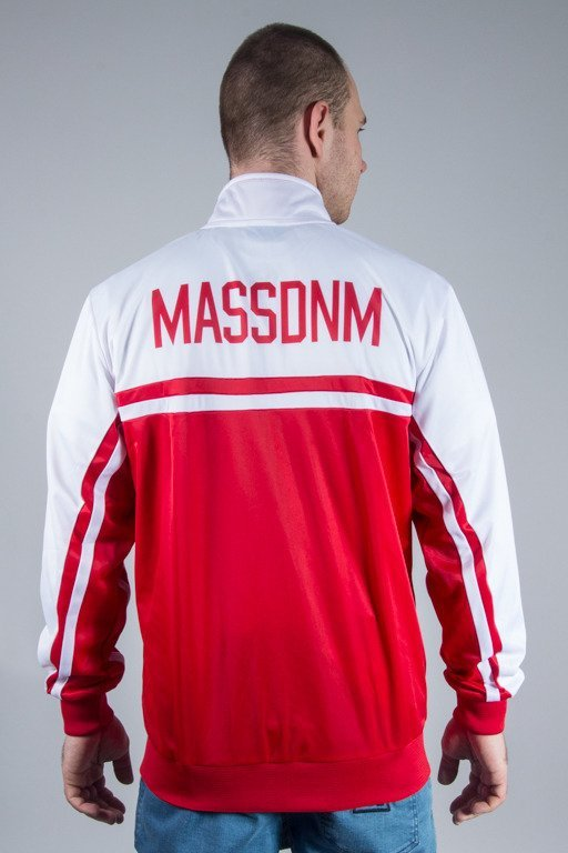 MASS TRACK TOP CREST WHITE