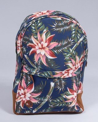 MI PAC BACKPACK MAXWELL PALM FLORAL NAVY