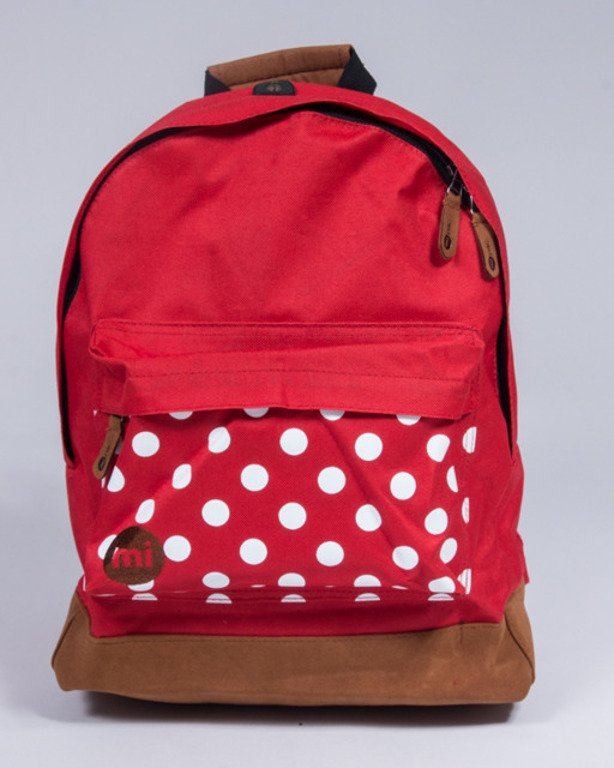 MI PAC BACKPACK POLKA RED