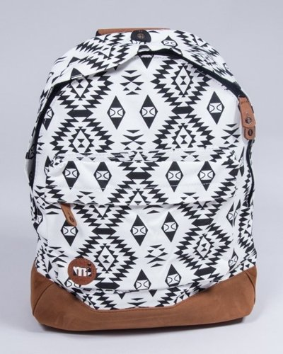 MI PAC BACKPCK NATIVE BLACK-WHITE