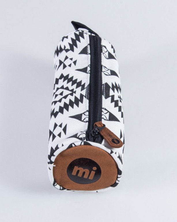 MI PAC PANCIL CASE NATIVE BLACK-WHITE